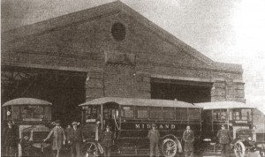 Midland Red Bus Garage 1925