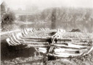 Possible remains of a horse ferry