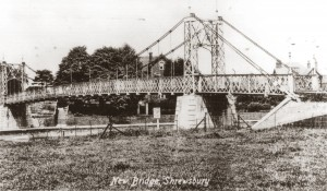 The original Castlefields footbridge