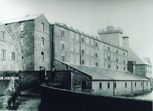 The Maltings and old factory bridge