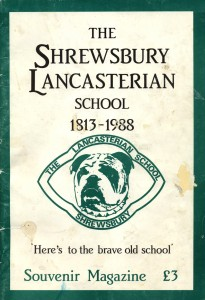 The Lancasterian School souvenir magazine