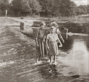 Walking the Weir, 1959