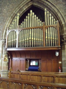 All Saints Church Organ – the only surviving John Nicholson organ in original condition