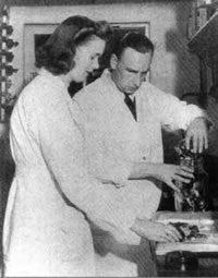Dorothy and Alan Reynolds – sweet makers