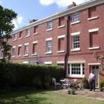John Dalton outside his house in Mount Pleasant Terrace