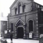 The original Methodist Chapel at the top of New Park Road