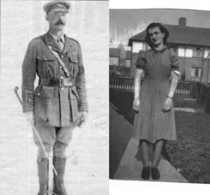 Colonel CRB Wingfield – Mayor of Shrewsbury & Edna Williams of Wingfield Gardens or Close